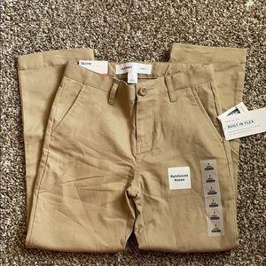 NWT Old Navy Khaki Pants Sz 7